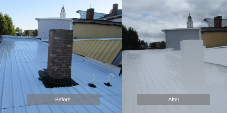 Commercial Roof Restorations