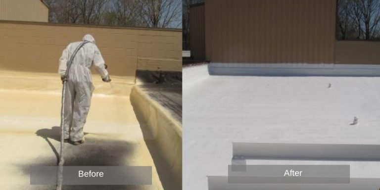 Spray foam roofs
