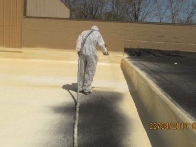 Spray foam roof systems